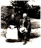 Anna og Laurids Prip 1919