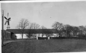 Anneksgården fra vest, Anneksgårdsvej 5, 1950