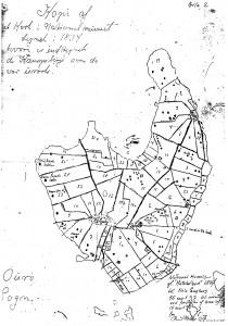 Ourø 1834, kæmpehøje
