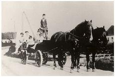 Brugsens tidlige varevogn