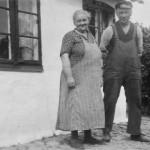 Caroline Nielsen og fisker Jens Nielsen