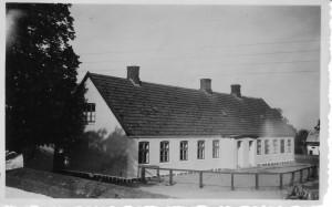 Degnegården, Bygaden 50, Orø Skole, 1950