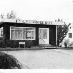 Ejendomsfoto, Bygaden 32, Sjællandske Bank, 1975
