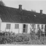 Ejendomsfoto, Bygaden 82, Gamløse Smedje, 1950