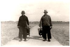 Fiskere fra Snave ca. 1930
