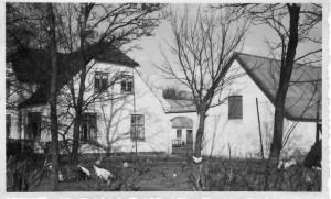 Godthåbsgården fra SV, Bygaden 78, 1950