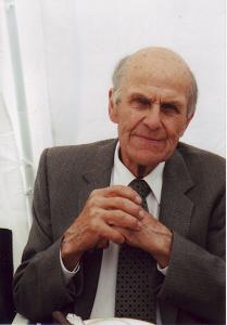 Harald Petersen, Strandagergård, fhv. sognefoged og formand for museet