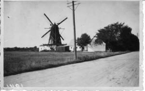 Lillemøllen fra SØ, Brøndevej 34, 1941