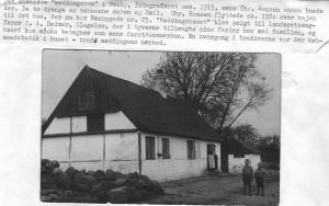 Møddinghuset, Næsbygade 6, omkring 1915