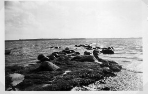 Møllebroen, tidligere overfartssted til Tuse Næs