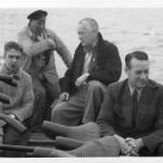 Færgemand Peter Jensen, Østre Færge 1954