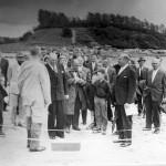 Østre Færge, færgeindvielse 6. juli 1962 ved Hammer Bakke