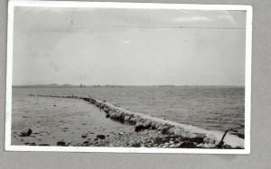 Østre Færges mole ca 1940