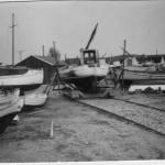 Orø Havn, ophaling af båd