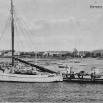 Orø Havn ca 1930, postkort