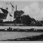 Orø Kirke, Partier fra Ouerø, postkort