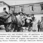 Hestevognskørsel ved Orø Kro 1941