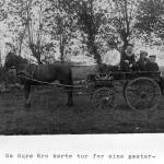 Orø Kro og hestevognen, postkort