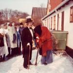 Orø Skole, fastelavn 1983