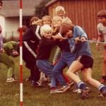 Orø Skole, idrætsdag 1980, tovtrækning