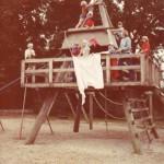Orø Skole, klatretårnet 1982