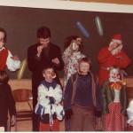 Orø Skole, fastelavn, 1985