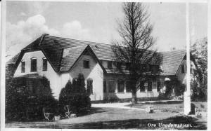 Orø Strand, Stænget 6, 1950, postkort