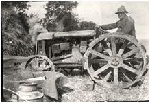 Orøs første traktor 1920-1925