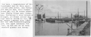 Ourø Skibsbro i begyndelsen af 1900-tallet