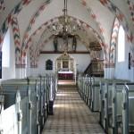 Orø Kirkes skib og kor