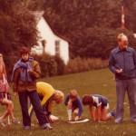 Skoleudstilling - Orø Skole idrætsdag 1980 Egon Nordahl