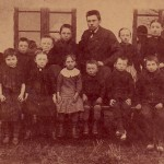 Skoleudstilling - friskolen i Gamløse 1889