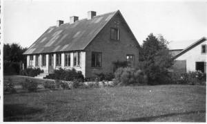 Strandagergård, Bygaden 1 a, 1950