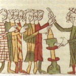 Vikingeudstilling - edsaflæggelse ved relikvieskrin