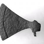 Vikingeudstilling - økse på Nationalmuseet